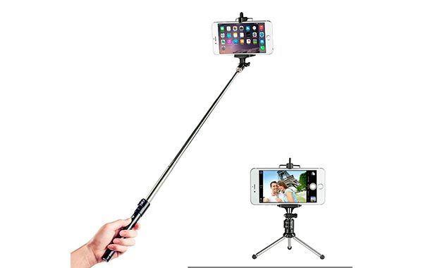 Palo para Selfies con Trípode