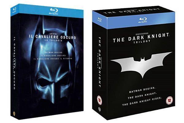 Batman Blu-Ray Trilogía El Caballero Oscuro
