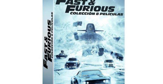 Saga Fast and Furious Blu-ray DVD