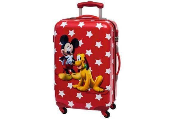 Maleta Viaje Mickey y Pluto