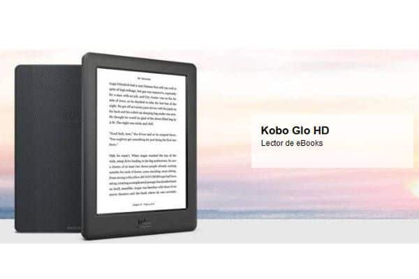 Mejores eReaders para Comprar en 2016 - Ereader Kobo Glo HD