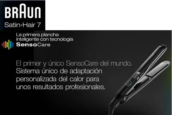 Plancha de Pelo Braun Satin Hair 7 SensoCare ST780