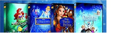 2x1 Películas Disney Princesas