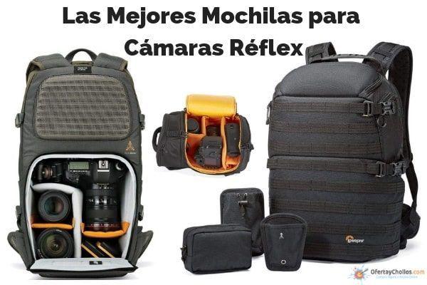 las mejores mochilas camaras reflex