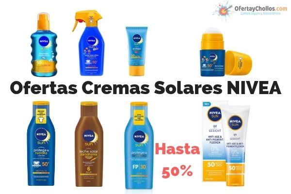 oferta crema solar nivea