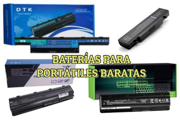 baterias para portatiles baratas