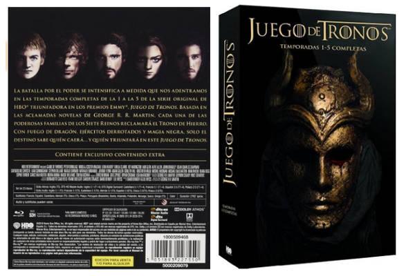 Oferta Packs Juego de Tronos Serie – Todas las Temporadas en DVD y Blu-Ray 2018