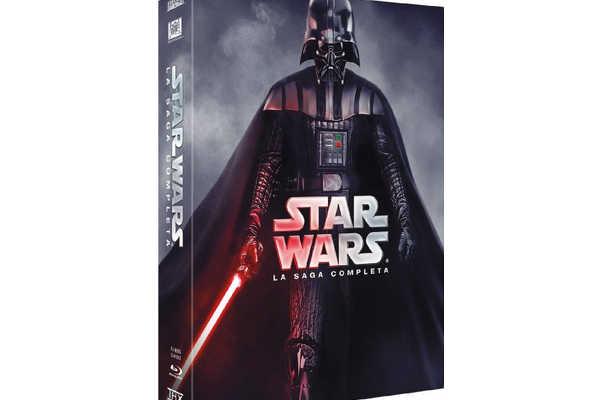 ¡¡Oferta!! Star Wars Saga Completa DVD y Blu-Ray (6 Discos + 3 Discos Extras) – El Despertar de la Fuerza 3D