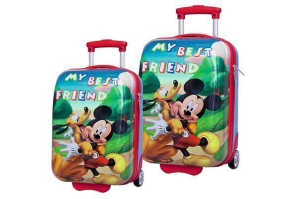 Juego de Maletas Mickey y Pluto