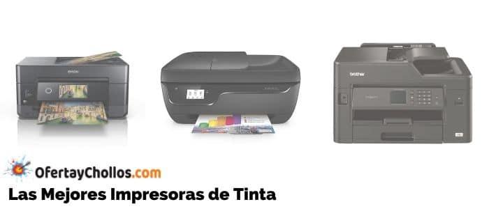 mejores impresoras de tinta baratas