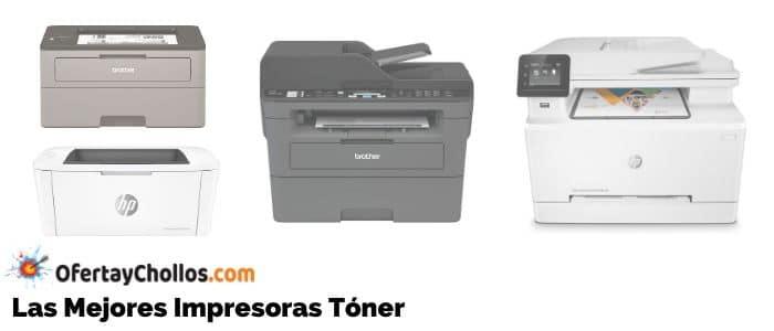 mejores impresoras toner baratas