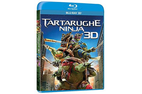 ¡¡Chollo!! Tortugas Ninja Blu-Ray – 2D y 3D (2 Discos) – Sólo 9,28€