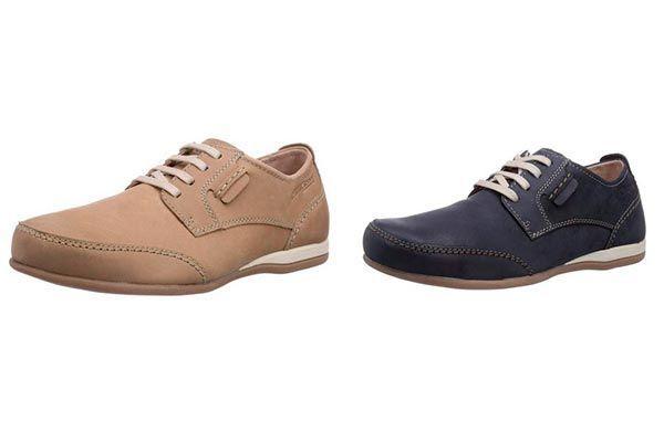 Camel Active Point 13, Zapatos de Cordones Derby para Hombre, Azul (Jeans), 39 EU