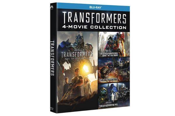 Transformers Blu-Ray Pack Cuadrilogía 1-4