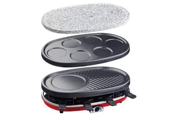 Raclette Grill Piedra y Crepera