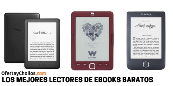 mejores lectores de ebooks baratos