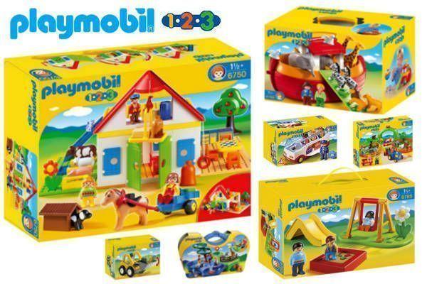 Playmobil 1 2 3 – Oferta Playmobil para Bebés al Mejor Precio
