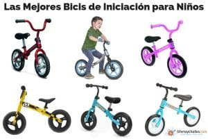 las mejores bicis de iniciacion para niños oferta