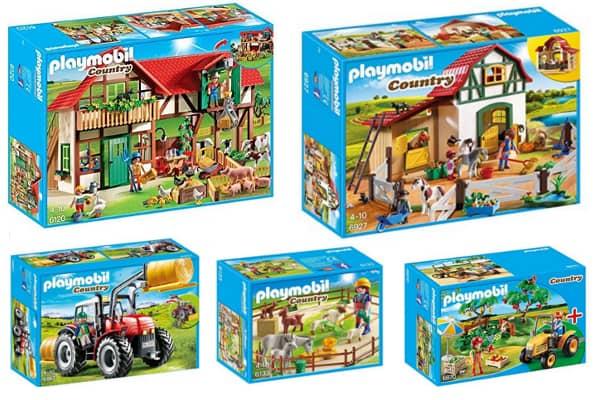 ofertas granja playmobil