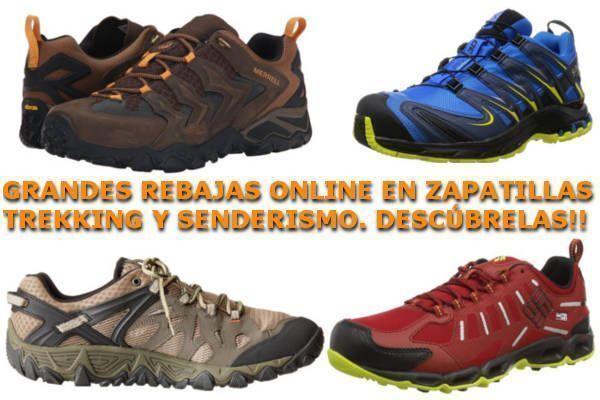 Las Mejores Zapatillas Trekking y Senderismo Baratas【2020】
