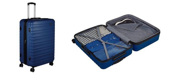 maleta rigida grande amazonbasics