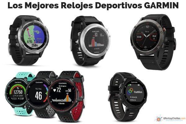 mejores relojes deportivos garmin oferta