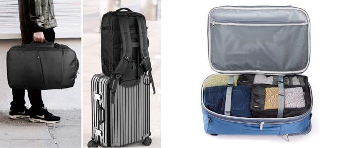 mochilas de viaje interior
