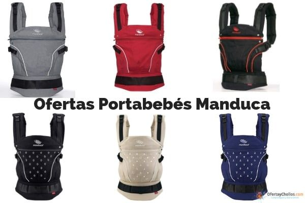 oferta mochila portabebes Manduca