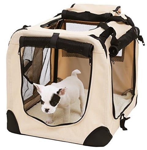 Bolsa de transporte para mascotas songmics