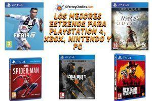 oferta nuevos juegos ps4