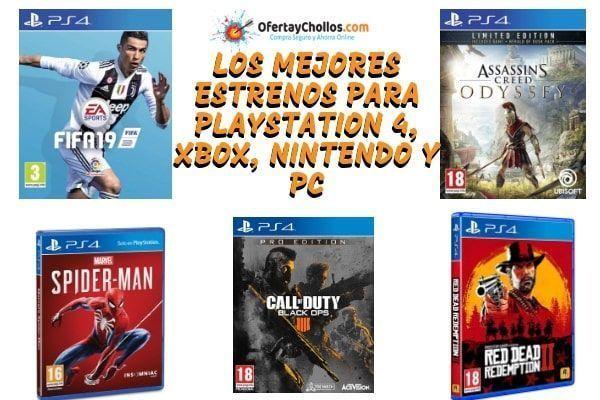 Oferta Estrenos De Juegos Para Ps4 Xbox One Pc Mejor Precio 2019