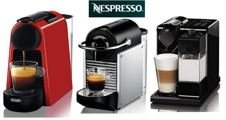 Promocion Cafeteras Nespresso con 20€ de regalo