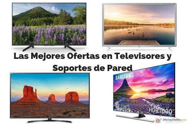 mejores ofertas en televisores y soportes