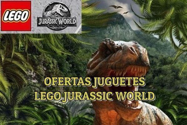 oferta juguetes lego jurassic world
