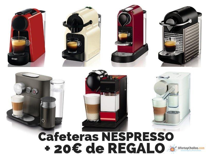 cafetera nespresso promocion regalo