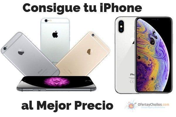 oferta iPhone mejor precio
