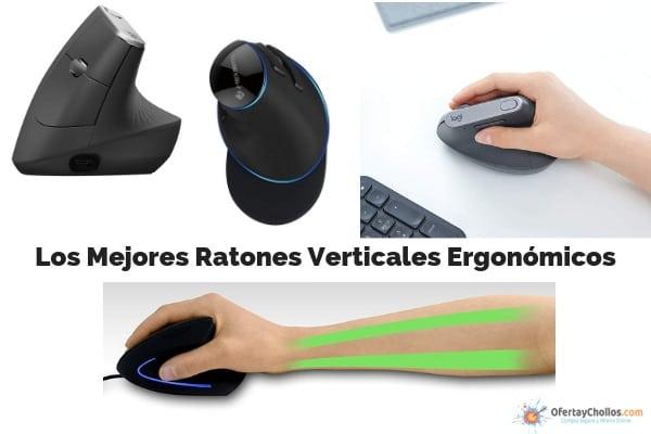 mejores ratones verticales PC