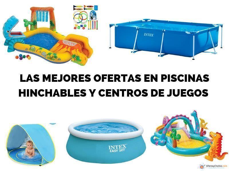 comprar piscina hinchable oferta