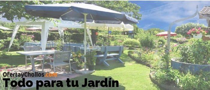 chollos muebles jardin