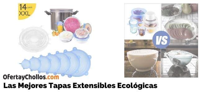 tapas extensibles ecologicas silicona