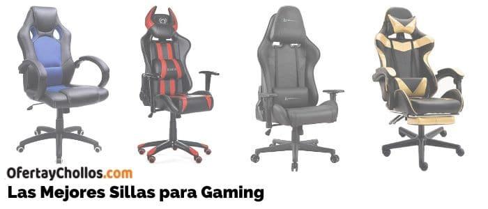 comprar mejores sillas gaming baratas