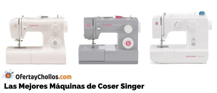 comprar mejores maquinas coser singer