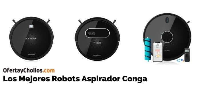 comprar mejores aspiradores robot conga