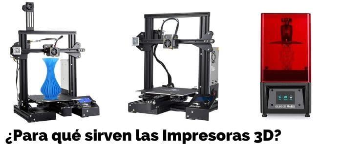 para que sirve impresora 3d