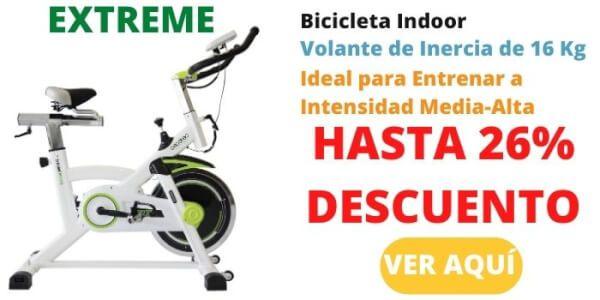 bicicleta estatica cecotec extreme