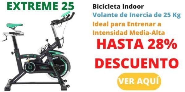 bicicleta estatica cecotec extreme 25