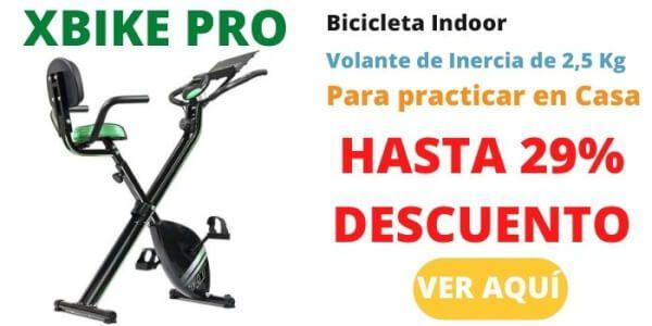 bicicleta estatica cecotec xbike pro