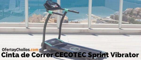 cinta correr cecotec sprint vibrator