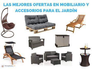 ofertas muebles jardin